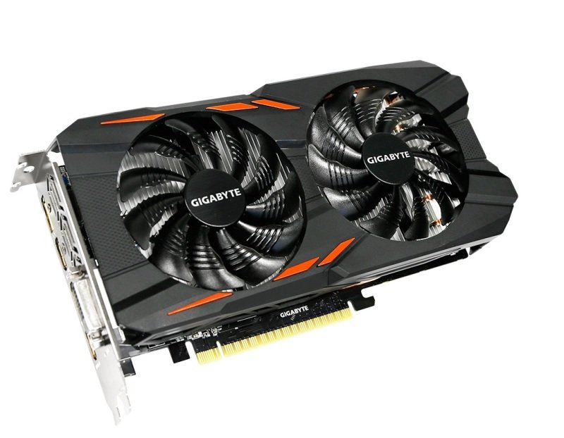 Gigabyte Nvidia GeForce GTX 1050 Windforce OC 2GB