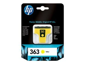 HP 363 Ink Cart Yellow Original