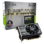 EVGA GeForce GTX1050 SC Gaming 2GB GDDR5 DVI-D HDMI DisplayPort PCI-E Graphics Card