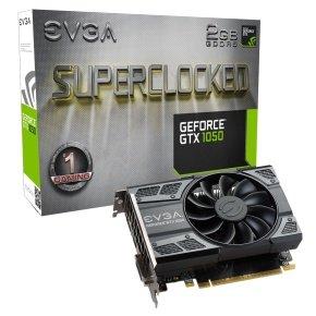 EVGA GTX 1050 SC Gaming 2GB GDDR5 Graphics Card