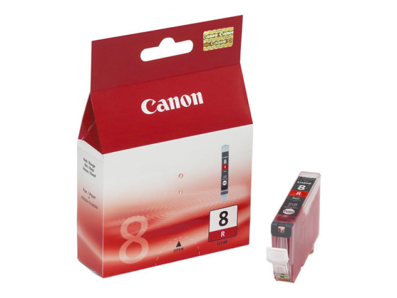 Canon CLI-8R Photo Ink Cartridge - Red