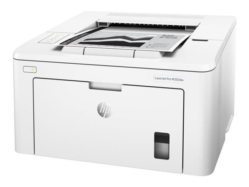 HP M203dw LaserJet Pro Wireless Mono Laser Printer - Available on HP Print at Your Service