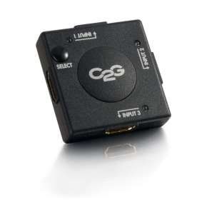 C2G 3-Port HDMI Auto Switch