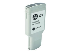 Hp Ink Cartridge/728 300ml Dj Matteblack