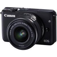 Canon EOS M10 18MP Wi-Fi Compact System Camera (Black)