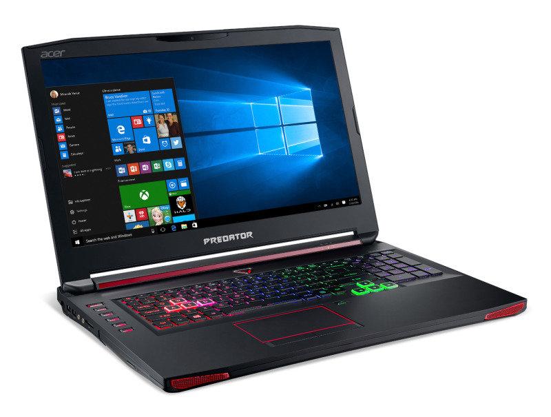 Acer Predator 17 G9793 Gaming Laptop Intel Core i76700HQ 2.6GHz 16GB RAM 1TB HDD 128GB SSD 17.3 Full HD DVDRW NVIDIA GTX 1070 8GB WIFI Windows 10 Home 64bit