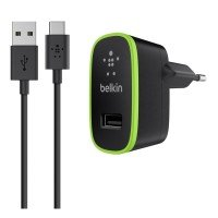 Belkin 2.1Amp Wall Charger with USB-A to USB-C Cable