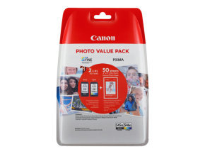Canon PG-545XL/CL-546XL Inkjet Cartridges- 2 Pack