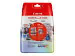 Value Pack/4x6 PP+CLI-521 C/M/Y/BK Blstr