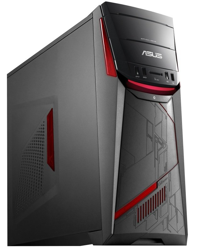 ASUS G11CD Gaming PC Intel Core i76700 2.8GHz 8GB RAM 1TB HDD 128GB SSD NVIDIA GeForce GTX 970 4GB Windows 10 Home 64bit