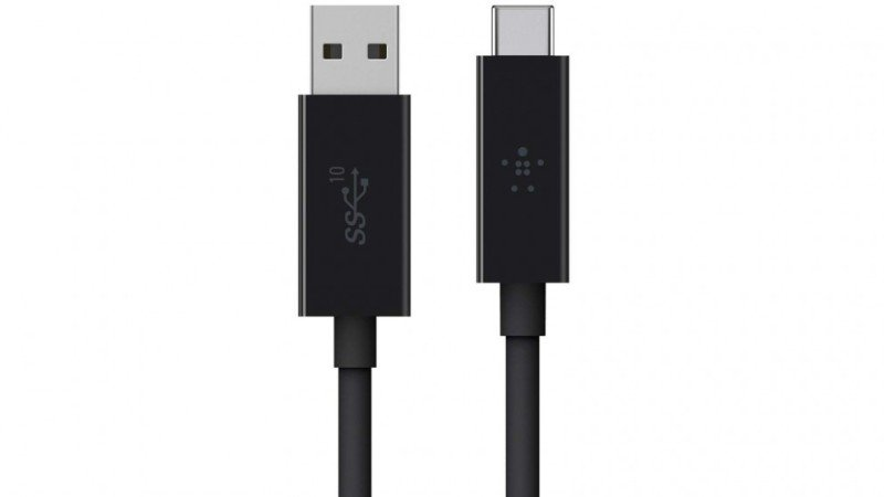 Belkin 3.1 USB-A to USB-C Cable (Also Known as USB Type-C)