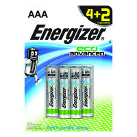 Energizer Ecoadvanced Aaa Pk 4 Plus 2