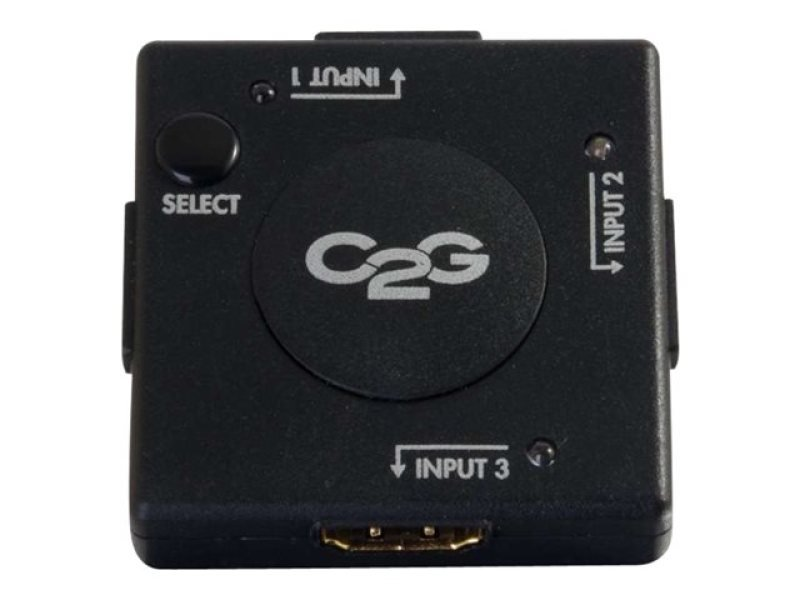 C2G 3-Port HDMI Auto Switch