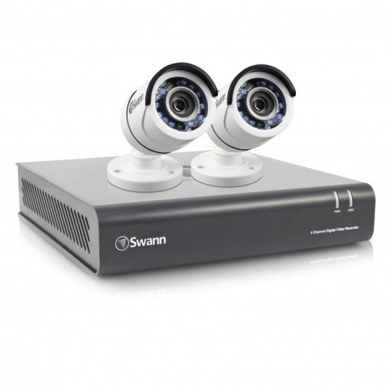Swann DVR44550 4 Channel 1080p Digital Video Recorder with 2 x PROT853 Cameras
