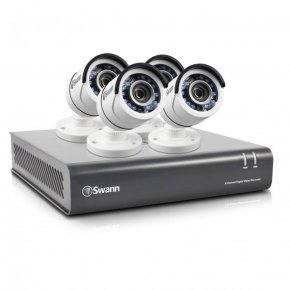 Swann DVR8-4550 8 Channel 1080p HD Digital Video Recorder & 4 x PRO-T853 Cameras