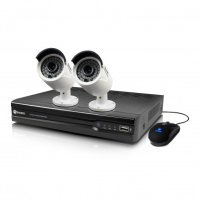 Swann NVR4-7400 4 Channel 4MP Network Video Recorder & 2 x NHD-818 4MP Cameras