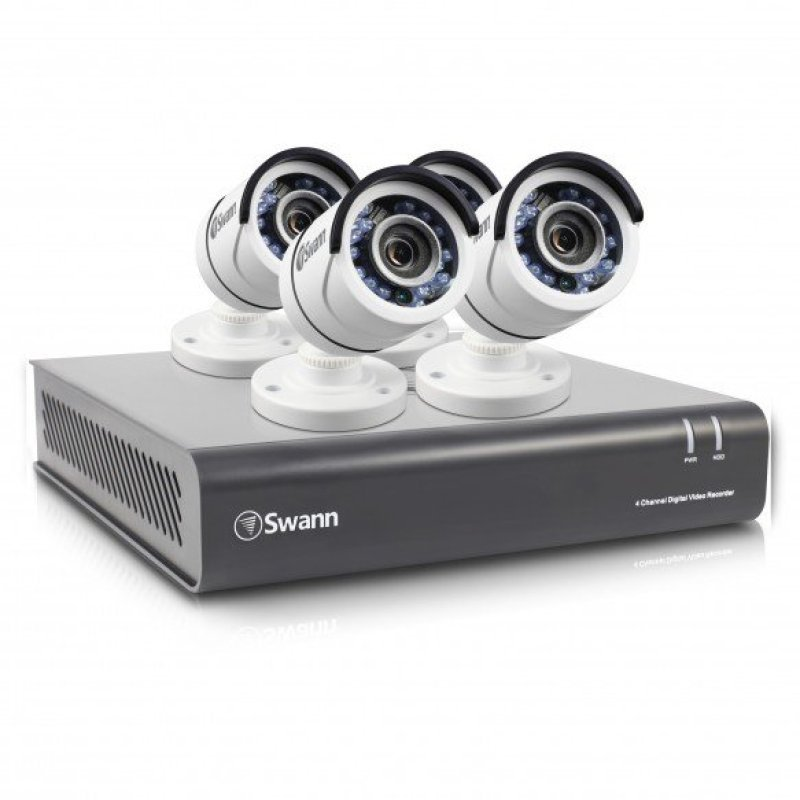 Swann DVR44550 4 Channel 1080p Digital Video Recorder with 4 x PROT853 Cameras