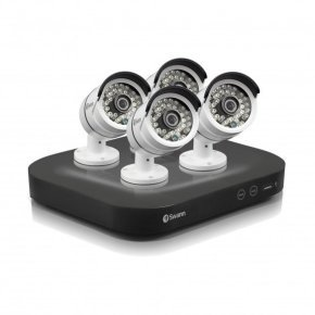 Swann DVR8-4750 8 Channel 3MP HD Digital Video Recorder & 4 x PRO-T858 Cameras