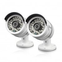 Swann PRO-T858 3 Megapixel HD Bullet Camera for Swann Super HD 4750 Series DVRs Twin Pack Bundle