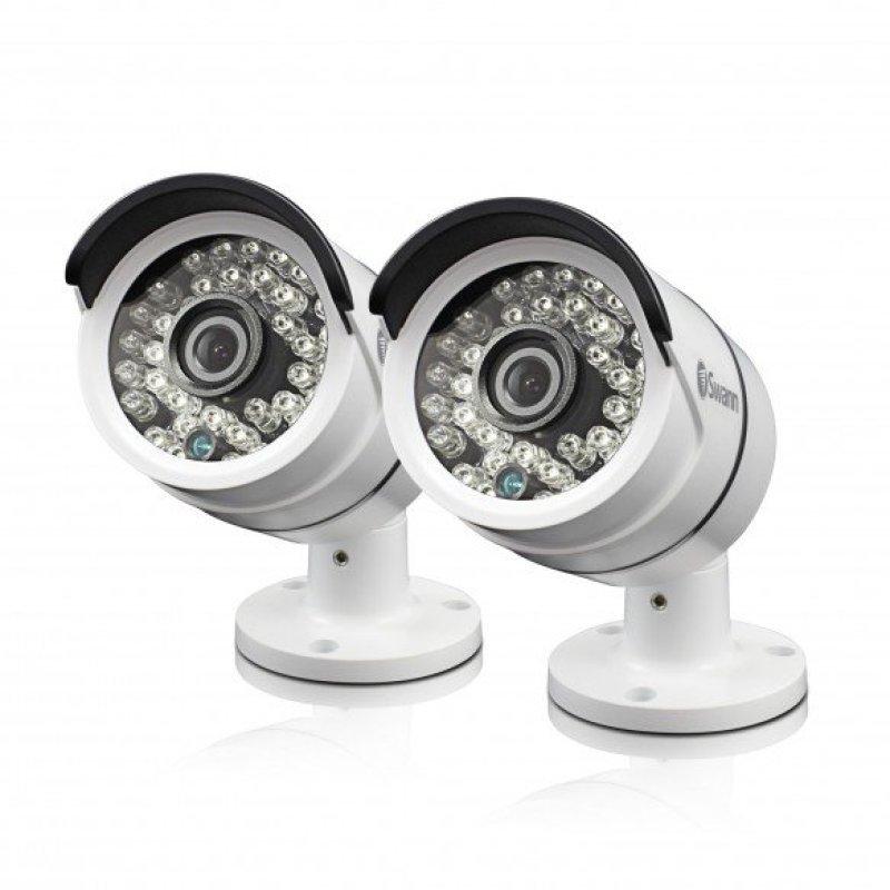 Image of Swann PRO-T858 3 Megapixel HD Bullet Camera for Swann Super HD 4750 Series DVRs Twin Pack Bundle
