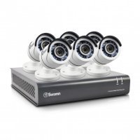 Swann DVR8-4550 8 Channel 1080p HD Digital Video Recorder & 6 x PRO-T853 Cameras