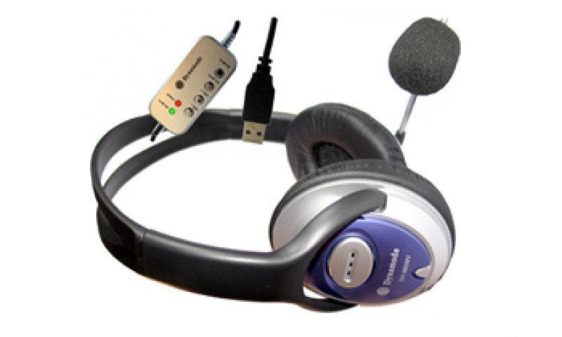 Dynamode DH-660-USB USB Stereo Headphone and Microphone