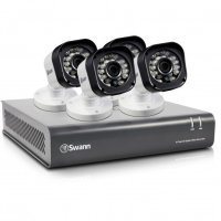 Swann DVR8-1580 8 Channel 720p Digital Video Recorder & 4 x PRO-T835 Cameras