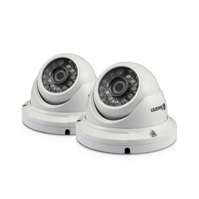 Swann PRO-A856 1080p Multi-Purpose Day/Night Dome Security Camera 2 Pack