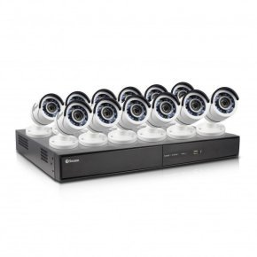 Swann DVR16-4500 16 Channel 1080p Digital Video Recorder with 12 x PRO-T855 Cameras
