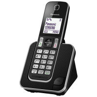 Panasonic KX-TGD310E Digital Cordless Phone No Answering Machine with Nuisance Call Block Single
