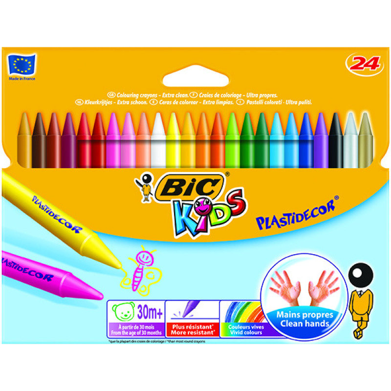 Bic Plastidecor Crayons
