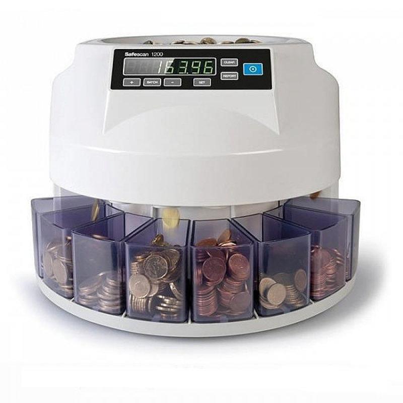 Safescan Mixed Coin Counter/Sorter Euro
