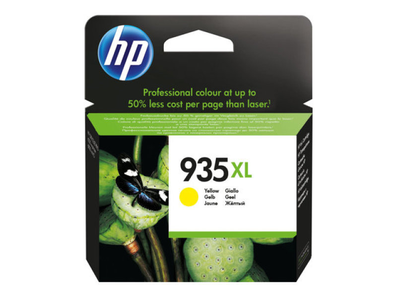 *HP 935XL YELLOW INK CARTRIDGE