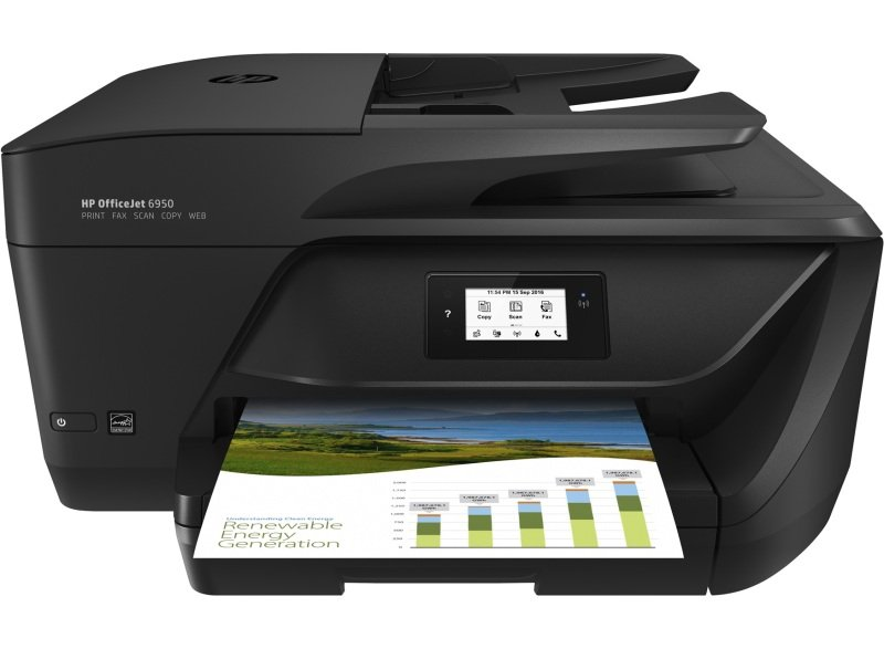 HP Officejet 6950 All-in-one A4 Wireless Inkjet Printer