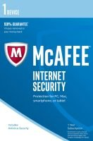 McAfee Internet Security 2017 1 Year 1 Device - Electronic Software Download
