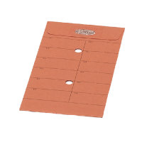 New Guardian Internal Mail Envelope C5 85gsm Resealable Orange Pk 500