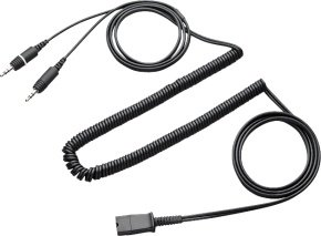 Plantronics Proshare AV Multimedia Cable Mini-Phone Stereo 3.5 mm (M) Black