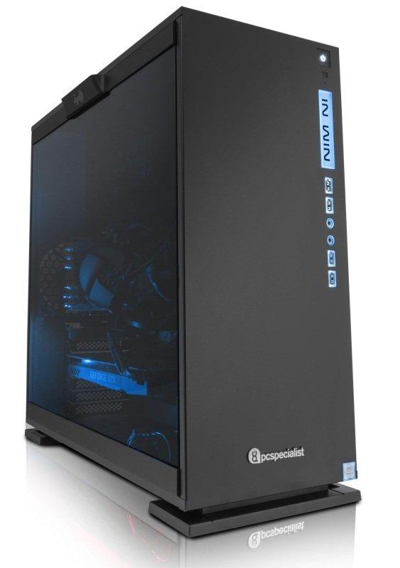 PC Specialist Vanquish Gamer Extreme VR Gaming PC Intel Core i76700K 4.0GHz 16GB RAM 2TB HDD 240GB SSD NoDVD 2x NVIDIA GTX 1070 8GB WIFI Windows 10 Home 64bit