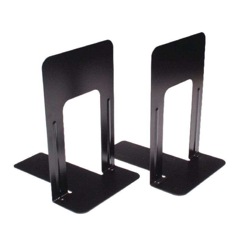 Image of Large Deluxe Bookends Black Pack of 2