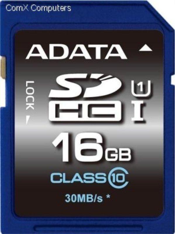 ADATA Premier 16GB SDHC UHSI Memory Card