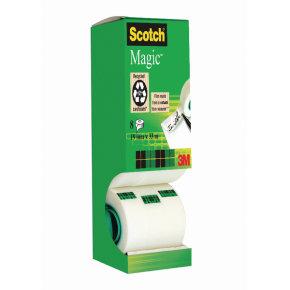 Scotch Magic Tape Tower Pack of 8 Rolls 19mm x 33m