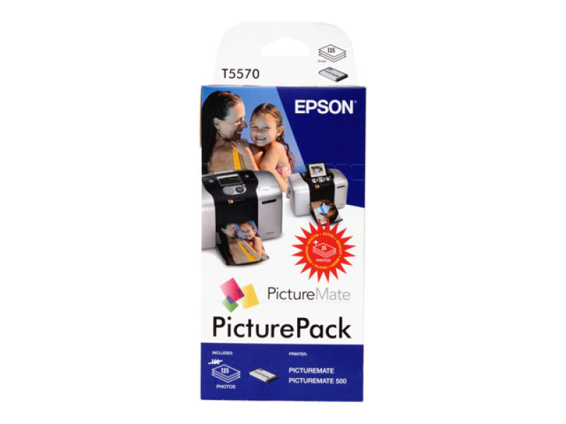 Epson PicturePack T5570 Ink Cartridge and Paper Pack