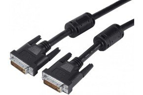 DVI-D Dual Link Cord 24+1 Male/Male- 15M