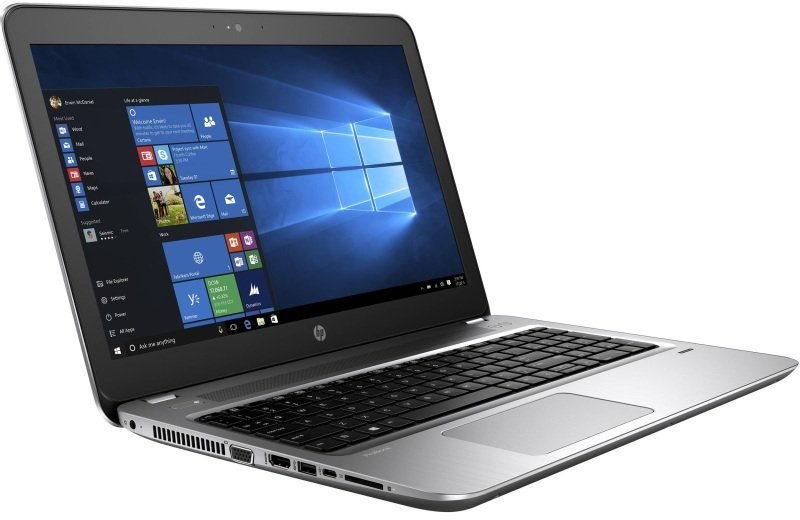 HP ProBook 450 G4 Laptop Intel Core i57200U 2.5GHz 4GB DDR4 500GB HDD 15.6&quot LED DVDRW Intel HD WIFI Webcam Bluetooth Windows 10 Pro
