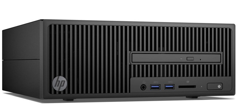 HP 280 G2 SFF Desktop Intel Pentium G4400 3.3GHz 4GB RAM 500GB HDD DVDRW Intel HD Windows 10 Pro 64bit