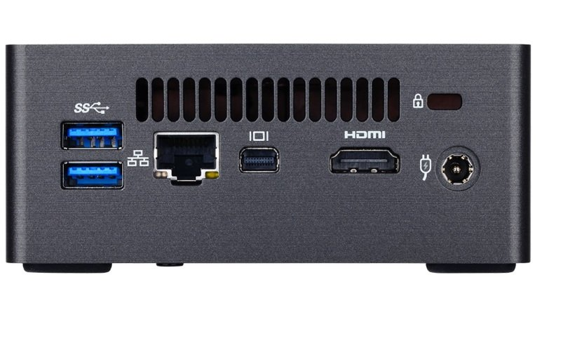 "Gigabyte Kaby Lake i3 BRIX S Barebone Mini PC Kit with 2.5"" SATA Bay GB-BKI3HA-7100"