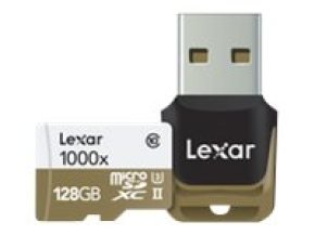 Lexar Professional 128GB microSDXC UHS-II Memory Card