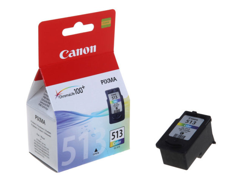 Canon CL-513 3 Colour (CMY) Ink Cartridge - 349 Pages - 2971B001