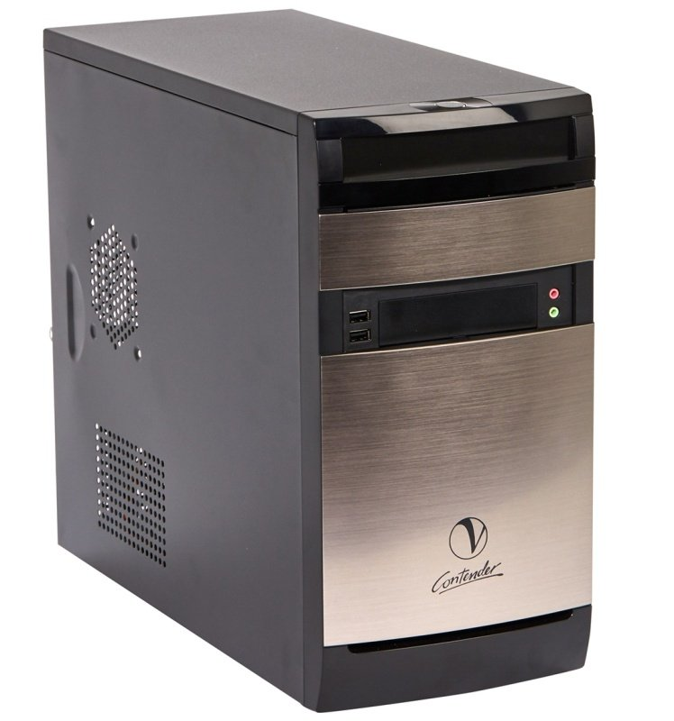 Viglen Contender Desktop PC Intel Pentium G4400 3.3GHz 4GB RAM 120GB SSD DVDRW Intel HD Windows 10 Pro