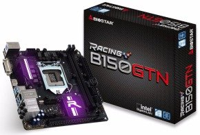 Biostar Intel B150 Socket 1151 Mini ­ITX Motherboard B150GTN